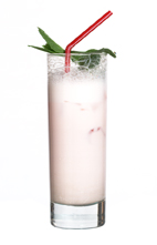 Rose Red - The Rose Red is made form vanill vodka, Tequila Rose and milk, and served in a highball glass.