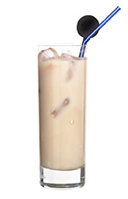 Chomp - The Chomp drink is made from coffee, Licor 43, creme de cacao and milk, and served in a highball glass.