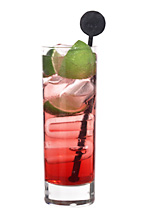 Wonderful - The Wonderful drink is made from vodka, Sourz Peach, lemon-lime liqueur, cranberry juice and lemon-lime soda, and served in a highball glass.