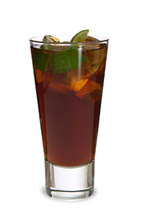 Vanilla Coke - The Vanilla Coke drink is made from vanilla vodka, lime juice and cola, and served in a highball glass.