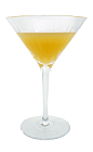 The Angel Face cocktail is made from Gin, Apricot Brandy and Apple Brandy, and served in a chilled cocktail glass.