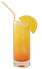The Antis Drink is a non-alcoholic drink made from orange soda and grenadine, and served in a highball glass.