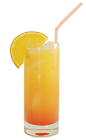 The Antis Drink is made from Vodka, orange soda and grenadine, and served in a highball glass.