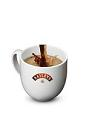 The Baileys & Hot Coffee drink is made from Baileys Irish Cream and hot coffee, and served in a warm coffee mug.