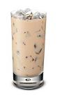 The Baileys Iced Coffee drink is made from Baileys Irish Cream and coffee, and served in a highball glass.