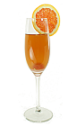 The Brandy Sour drink is made from Brandy, sugar and fresh lemon juice, and served in a chilled sour glass.