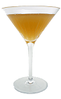 The Brooklyn Eagle cocktail is made from Bourbon, Triple Sec, Sweet Vermouth and fresh lime juice, and served in a chilled cocktail glass.
