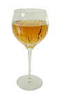 The Chicago drink is made from Brandy, Triple Sec, Angostura Bitters and Champagne, and served in a balloon wine glass.