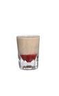 The Atomic Bomb shot is made from Sambucca and Baileys Irish Cream, and served in a shot glass.