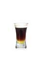 The Galliano Hot Shot is made from Galliano, coffee and whipped cream, and served layered in a shot glass.