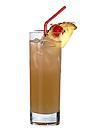 The Marianna drink is made from light rum, Grand Marnier, amaretto, pineapple juice and ginger ale, and served in a highball glass.