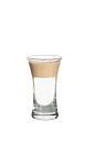The Slippery Nipples shot is made from Sambuca and Dooleys (or Baileys), and served in a shot glass.