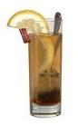 The Whiskey Toddy drink is made from your favorite whiskey, hot tea, lemon and sugar, and served in a highball glass.